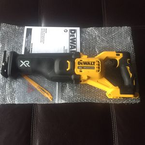 """BRAND NEW DeWALT 20v XR Brushless RECIPROCATING SAW with """"Power Detect"""" (DCS368) Tool Only for Sale in Philadelphia, PA"""