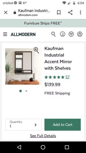 Wall mirror with Shelve for Sale in Atlanta, GA