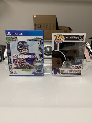 Madden 21 PS4 for Sale in Lawndale, CA
