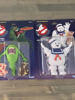 The Real Ghost Busters The Green Ghost & The Stay-Puft Marshmallow Man for Sale in Fontana,  CA