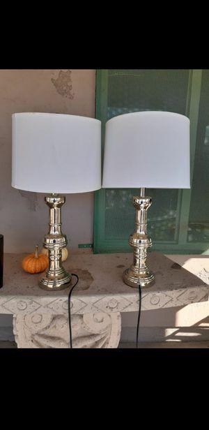 Silver modern lamps for Sale in Phoenix, AZ