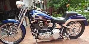 Harley show bike 11k miles 25k in it .. for Sale in Arvada, CO
