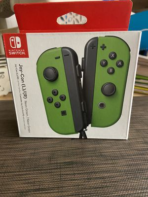 Nintendo switch controller (neon green joy cons) for Sale in Orland Park, IL