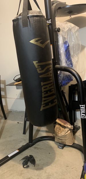 Punching bag with stand for Sale in Beaverton, OR