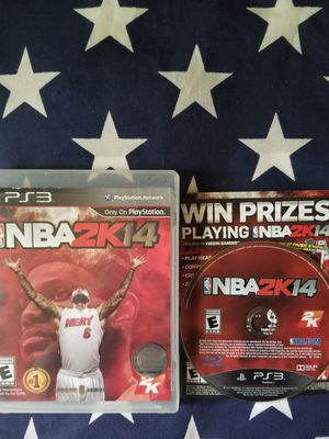 NBA 2K14 (PS3) for Sale in US