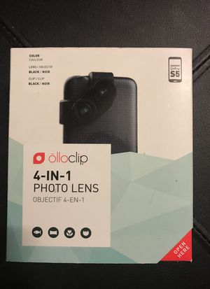 Olloclip 4 in 1 Photo Lens for Samsung Galaxy S5 BRAND NEW for Sale in San Diego, CA