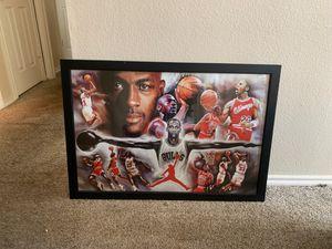 Michael Jordan Frame for Sale in Dallas, TX