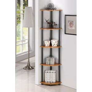 Corner Shelf Wall Shelves 5 Tier Storage Display Rack Stand Home Decor Bookcase for Sale in New Orleans, LA