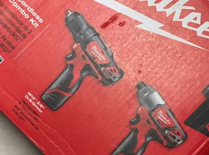 Cordless Combo kit, M12 3/8 Drill Driver and Impact for Sale in Reynoldsburg, OH