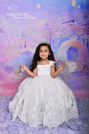Cinderella backdrop 5x7 vinyl photography for Sale in Fort Lauderdale, FL