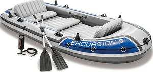 Intex Excursion Inflatable Boat Series 5 Person for Sale in Bethesda, MD