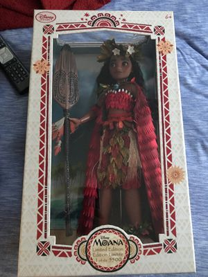 DISNEY LIMITED EDITION MOANA DOLL for Sale in Sunnyvale, CA