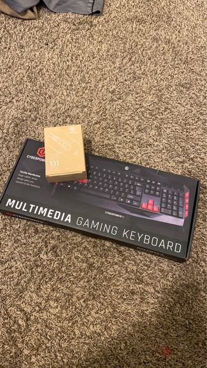 Cyberpower Pc gaming mouse and keyboard for Sale in Woodland, CA