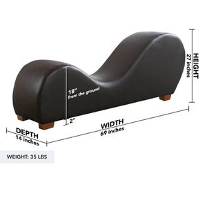 Leather Yoga Stretch Chaise Lounge for Sale in San Antonio, TX