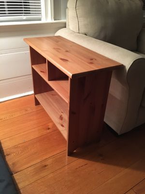 Brown Wooden Side Table for Sale in Milton, MA