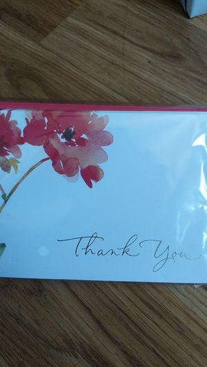 NEW Thank You Card- watercolors for Sale in Torrance, CA