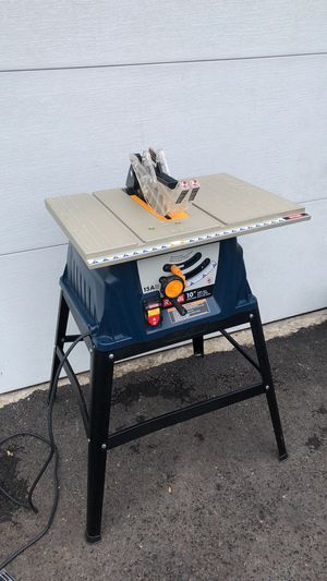 """RYOBI 10"""" inch Table Saw with Stand for Sale in Hilliard, OH"""