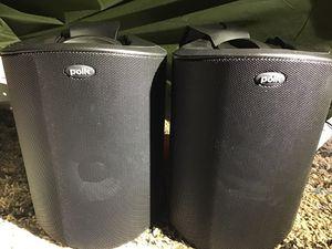 Polk audio atrium 5 indoor outdoor speakers for Sale in Austin, TX