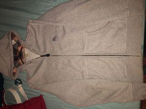 XL Burberry Zip-up Jacket (grey) for Sale in Vallejo, CA
