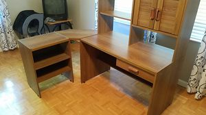 3 Piece Desk with Storage for Sale in Dupo, IL