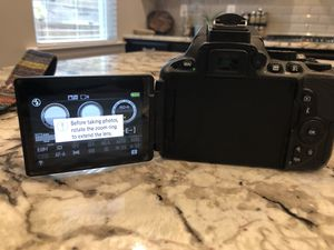 Nikon D5500 with two lenses for Sale in Holly Springs, NC