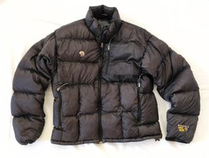 Mountain Hardwear Men's Large Black Down Jacket Coat Parka Flawless for Sale in San Diego, CA