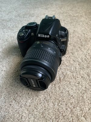 Nikon D3100 with lens for Sale in Alpharetta, GA