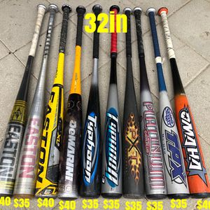 Baseball bats equipment gloves Easton demarini tpx marucci bates Nike for Sale in Los Angeles, CA