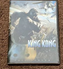 King Kong (Full Screen) Movie DVD 2006 for Sale in Chapel Hill,  NC
