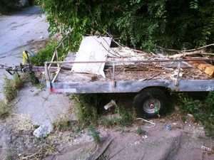 4 ft by 8ft utility trailer 1000 lbs rated must sell all offers considered for Sale in Arvada, CO