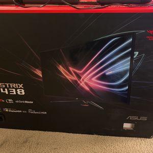 "ASUS ROG STRIX XG438 43"" 4K 120Hz HDR Gaming Monitor for Sale in Sunnyvale, CA"