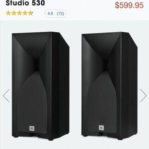 """Brand new in box JBL Studio 530 5.25"""" bookshelf passive speakers for Sale in San Diego, CA"""