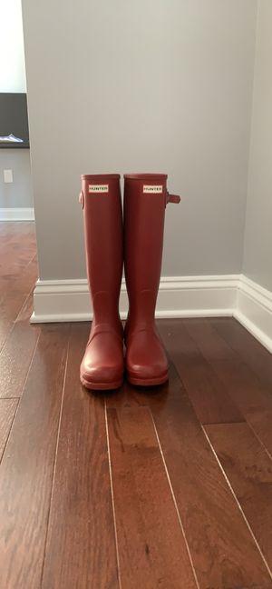 Red Matte Rain Boots for Sale in Bailey's Crossroads, VA