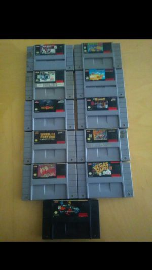 Super Nintendo games for Sale in Haines City, FL