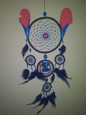 Handmade stitch dreamcatcher for Sale in Anaheim, CA