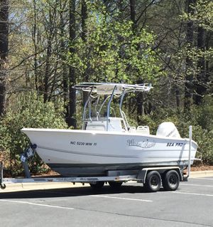 2004 Seapro with evinrude motor for Sale in Raleigh, NC