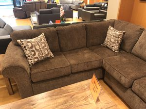 Brown sectional sofa for Sale in Dallas, TX