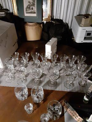 Antique crystal glasses for Sale in Denver, CO