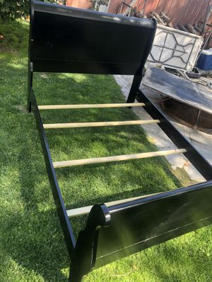 Coaster full size sleigh bed frame $150 for Sale in Tulare, CA