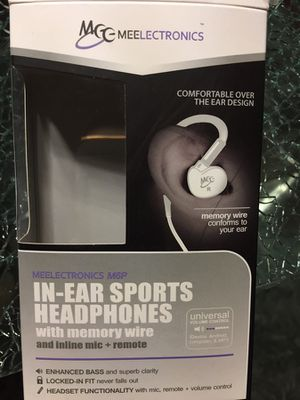 MEE audio Sport-Fi M6P Noise Isolating In-Ear Headphone with Mic for Sale in Mount Juliet, TN