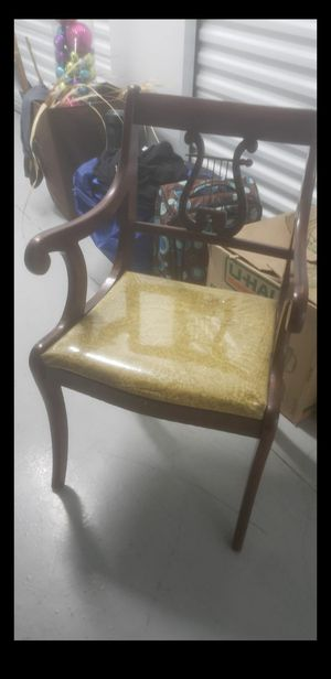 Dunkin Phyfe Antique Table and chairs for Sale in Humble, TX