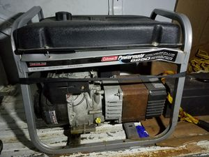 Coleman generator 6250 watts for Sale in Chicago, IL