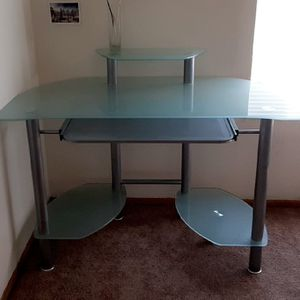 Glass desk for Sale in Hayward, CA