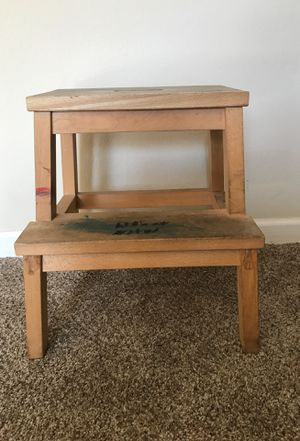 Solid wooden step stool. for Sale in Sunnyvale, CA