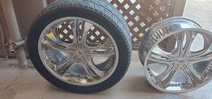 22 inch rims universal for Sale in Garden Grove, CA