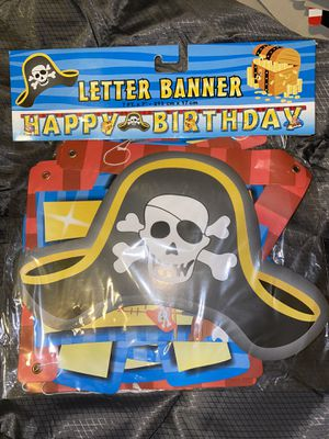 Pirate 🏴☠️ Birthday Decor/Supplies LOTS for Sale in Seattle, WA