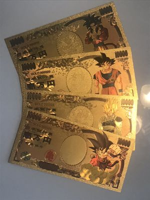 Dragonball Z Gold Card Money Lot for Sale in West Palm Beach, FL