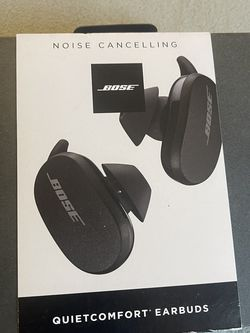 Bose Quietcomfort Noise Cancelling Earbuds, Black for Sale in Los Angeles,  CA