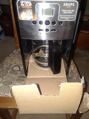 BRAND NEW KRUMPS COFFEE MAKER for Sale in Silver Spring, MD