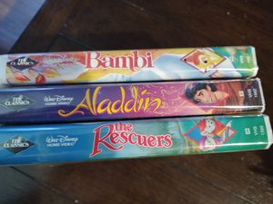 Black Diamond Disney VHS tapes for Sale in Columbus, OH